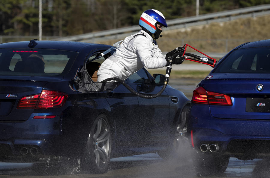 BMW Sets New Longest Drift Record with the Help of a 2018 BMW M5