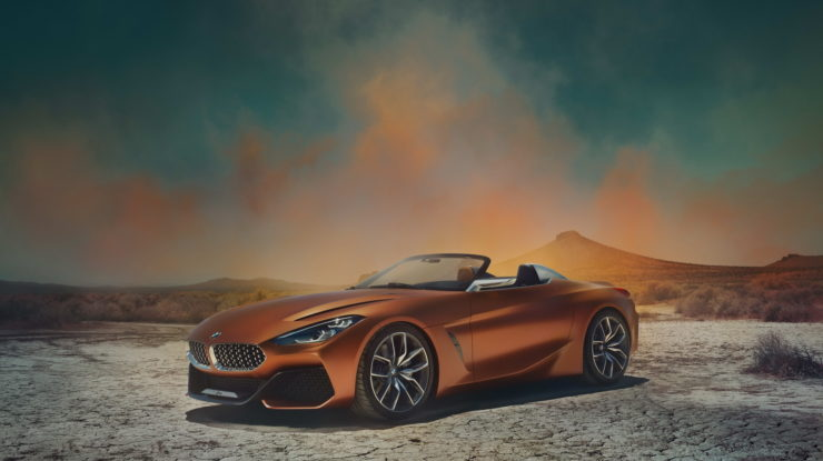 New 2019 BMW Z4 Roadster Confirmed for Paris Motor Show, Will Be Available only as a Roadster