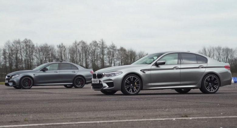 Power Battle: 2018 BMW M5 vs. Mercedes-AMG E63 S