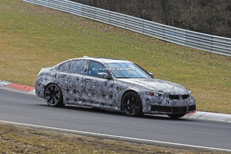 New 2020 BMW M3 Caught on New Shots on the Ring, Gets Ready for Frankfurt Motor Show