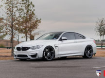 F82 BMW M4 with Vossen Wheels