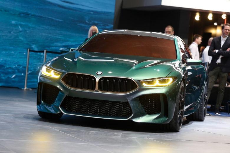 2018 Geneva: BMW M8 Gran Coupe Concept Unveiled