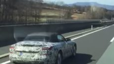 2019 BMW Z4 Cabrio – Spy Video Emerged near Magna Steyr Facility