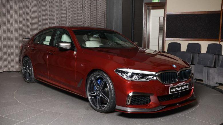 BMW M550i xDrive Shines in Abu Dhabi with AC Schnitzer Body Treatment