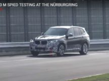 Spy Video: Hardcore 2019 BMW X3 M Tackles the Ring at High Speeds