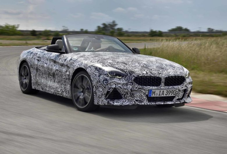 New 2019 BMW Z4 M40i Spied in Miramas, France, Testing Phase Is Closing to an End