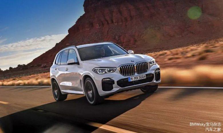 2019 G50 BMW X5 Impresses with New Engine Line-up