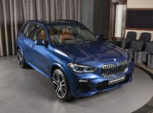 BMW Abu Dhabi Motors: 2019 X5 xDrive50i in Phytonic Blue Metallic Is the Star of the Day