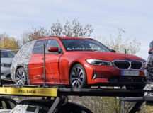 Less-Camouflaged 2019 BMW 3-Series Touring Pops-Up in New Spy Shots, Might Be Revealed at 2019 Geneva Motor Show