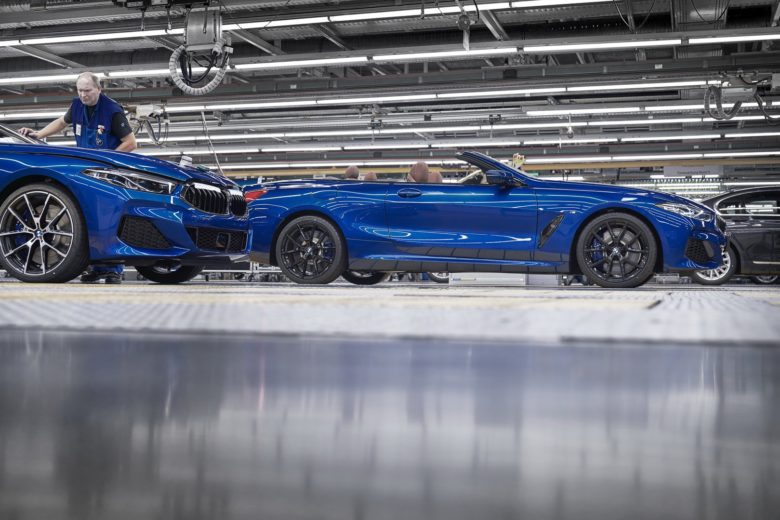 2019 BWM 8-Series Convertible Heads to Dingolfing, Shares Production Line with Coupe Sibling