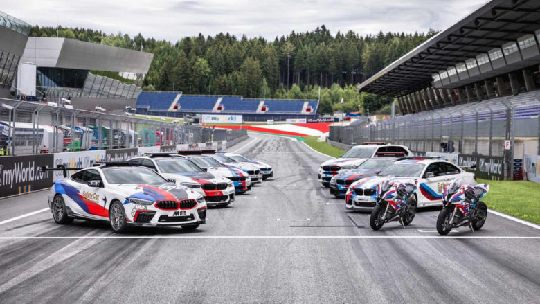 BMW M8 Competition Enters Safety Duty