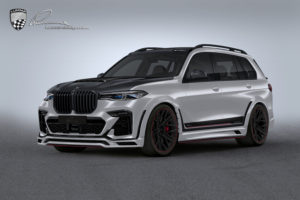 BMW X7 - Aggressive Body Look, Tuning By Lumma Design