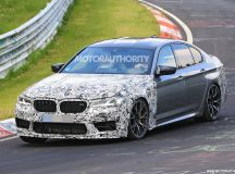 BMW M5 CS Spy Shots