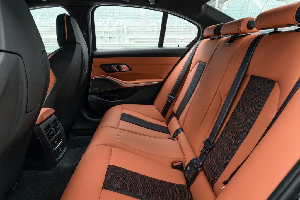 2021 G80 BMW M3 Interior