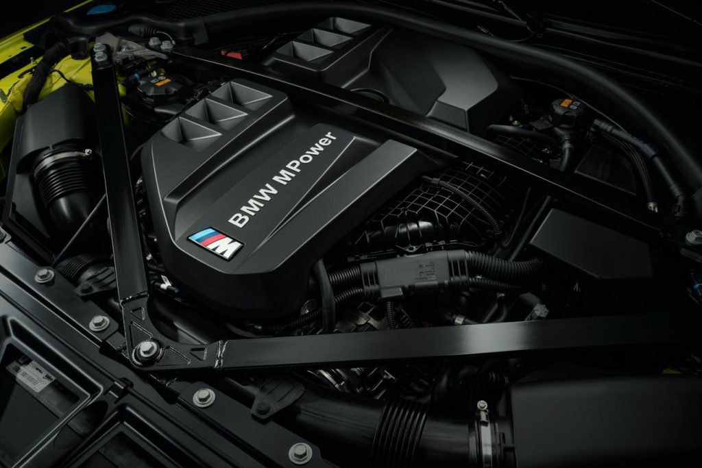 2021 G82 BMW M4 Competition Engine