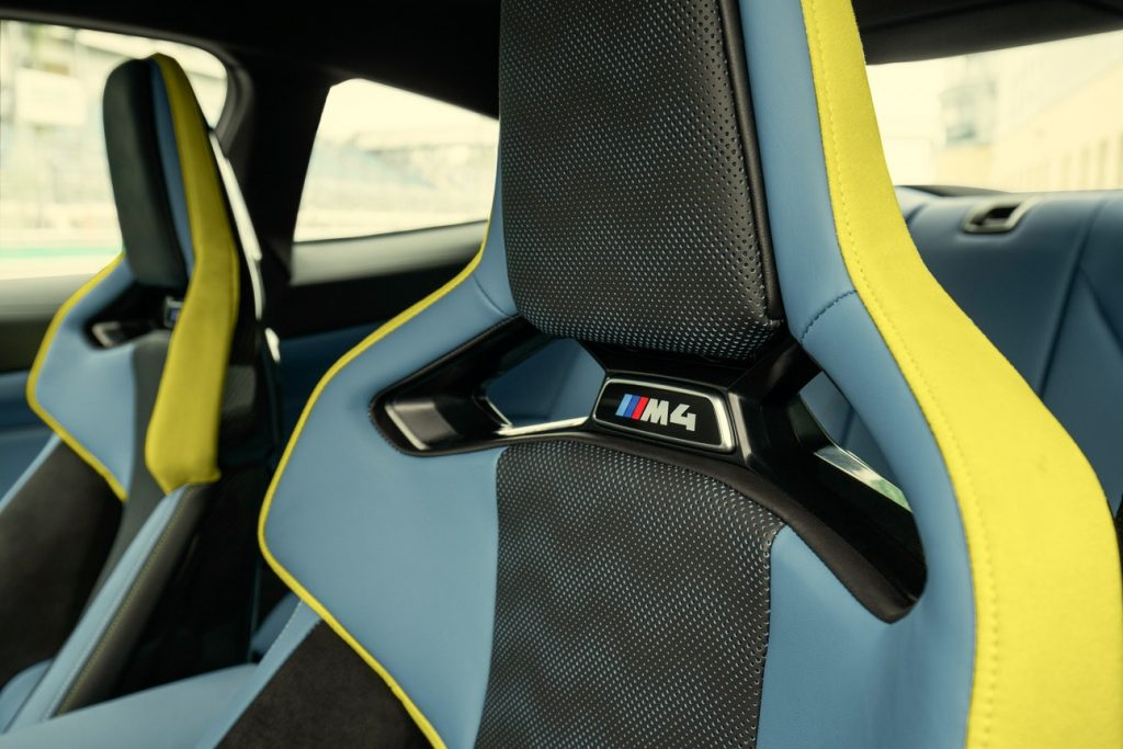 2021 G82 BMW M4 Competition Interior