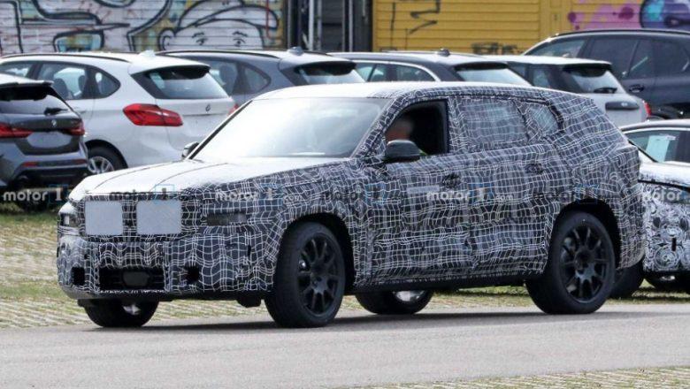 2022 BMW X8 Spy Shots