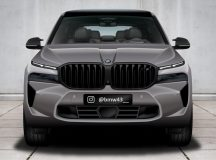 Rendering: BMW X8 M