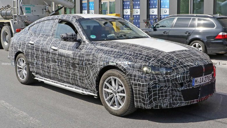 Upcoming BMW i4 Spy Shots Slightly Reveal New Design