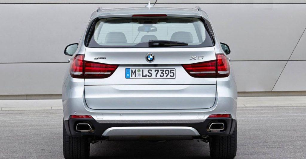 2017 BMW X5 (Rear)