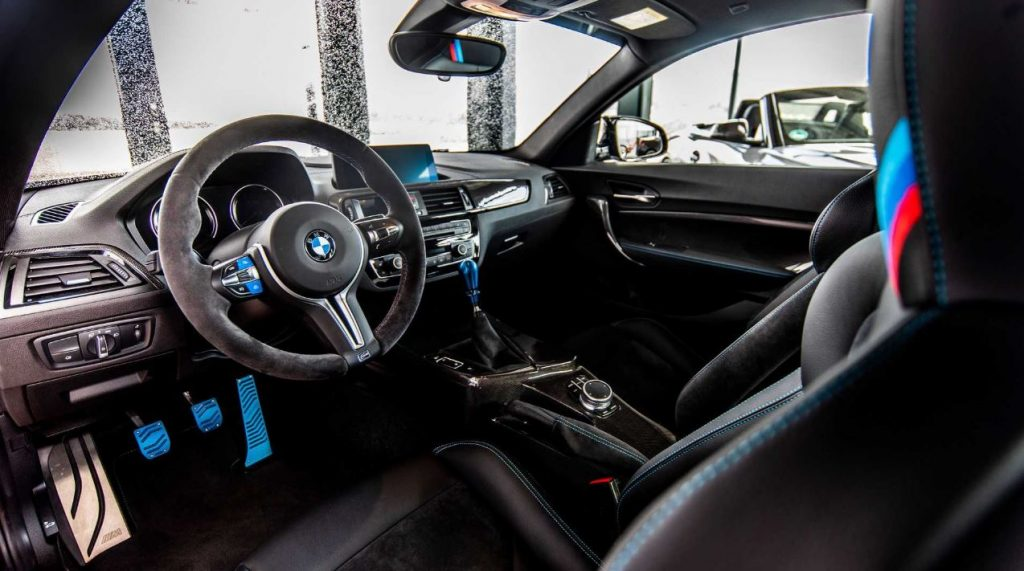 BMW M2 Finale Edition Interior