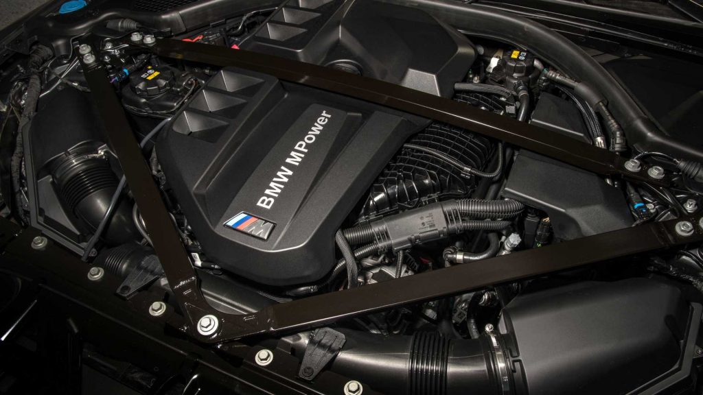 2022 BMW M3 & M4 Competition Engine