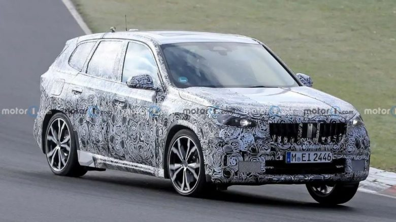 2023 BMW X1 Caught Testing On A Closed Track