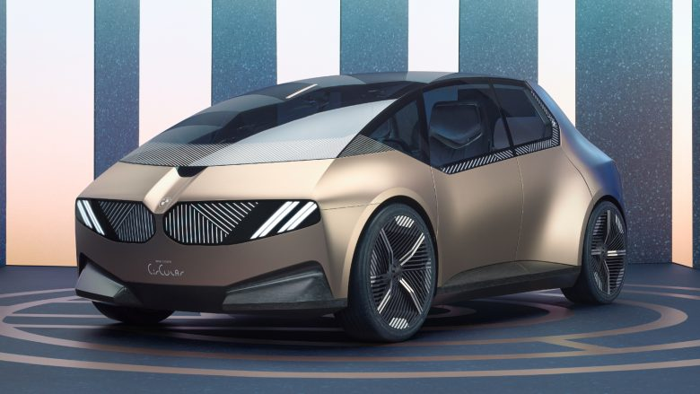 BMW launches i Vision Circular, a 100% recyclable concept
